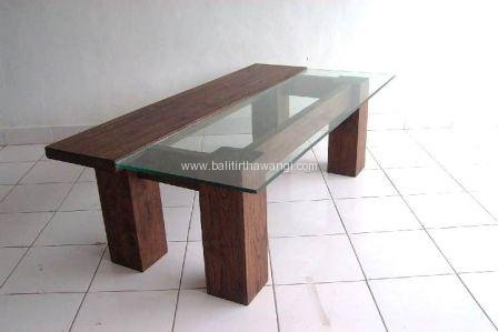 Table half glass<br>TK0037