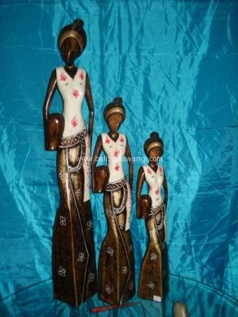 African Statue color set<br>TW0295
