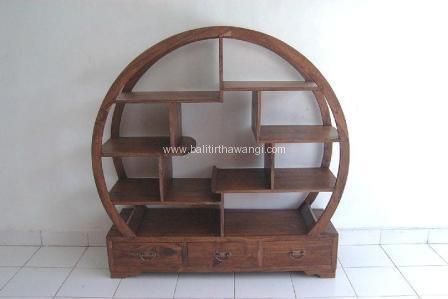 Round Bookcase<br>TK0049