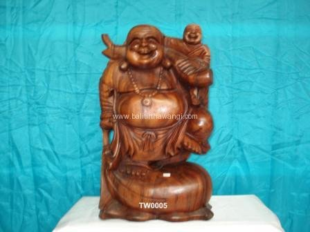 Traveling Buddha Standing with baby<br>TW0005