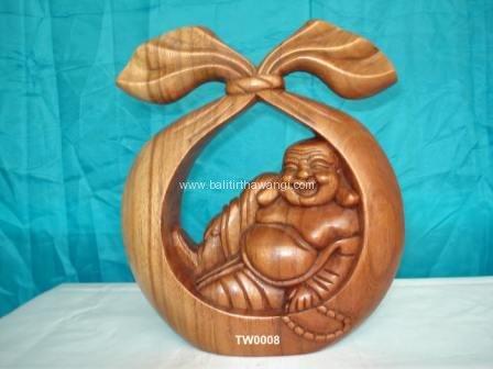 Happy Buddha Basket<br>TW0008