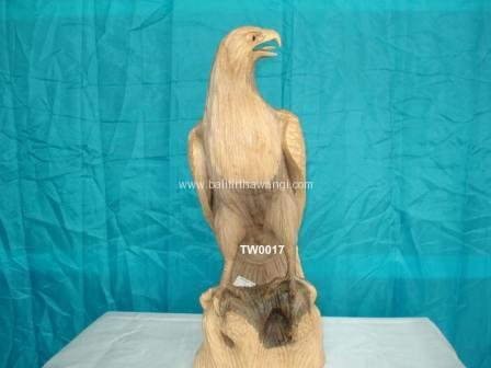 Eagle Wing Closed Hibiscus wood<br>TW0017