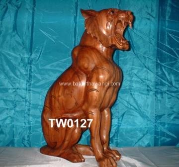 Sitting Tiger<br>TW0127