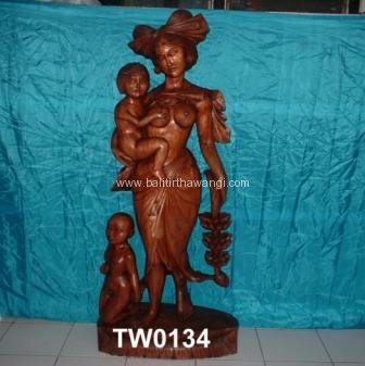 Farmer Female with baby<br>TW0134