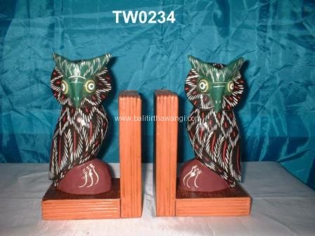 Owl clamp book color<br>TW0234