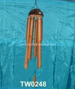 Bamboo Wind Chime - Coconut<br>TW0248