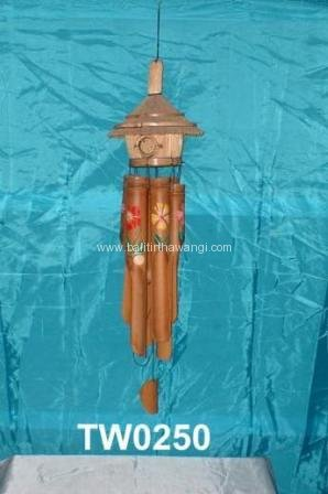 Bamboo Wind Chime - Bird House<br>TW0250