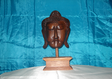 Budha Mask with mat <br>TW0359