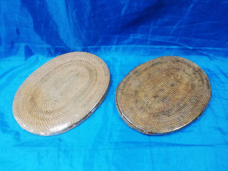 Placemate Rattan Set 4 - Oval<br>TW0488
