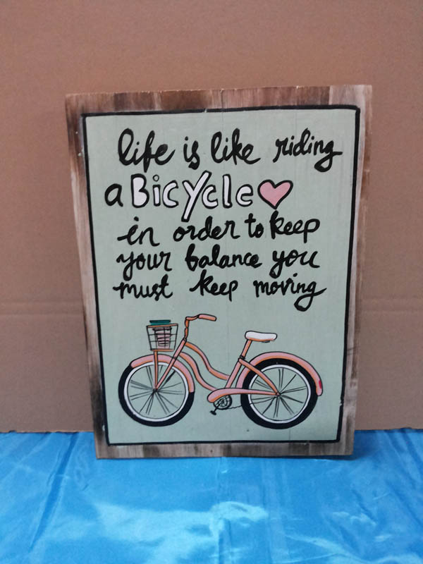 Life is like riding<br>WS003