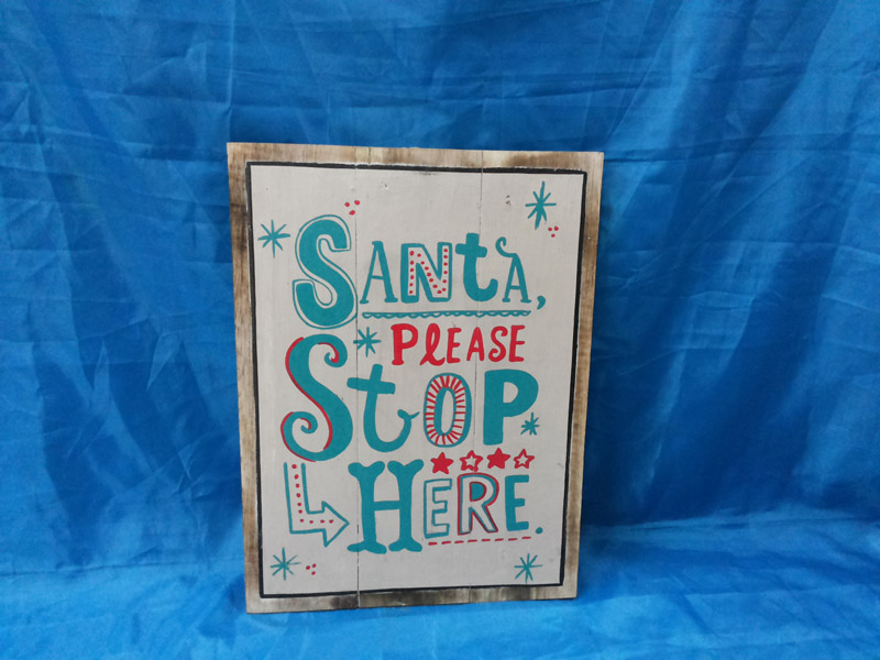 Santa please stop here<br>WS017