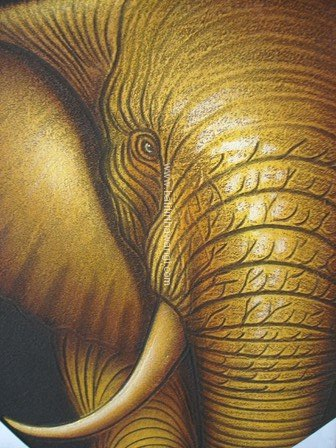 Elephant Head - Half<br>MR052