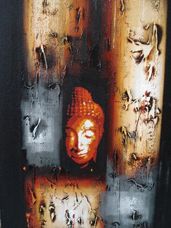Budha Abstract<br>MR057