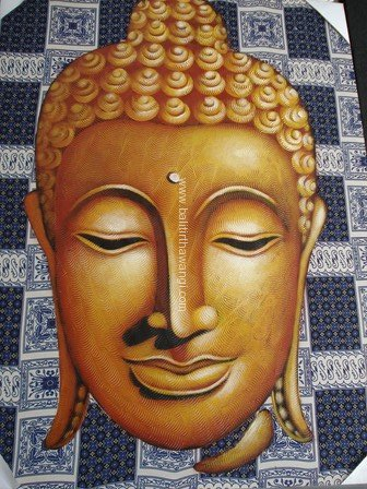 Batik Budha Head<br>MR080